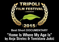 "award best short documentary ""Home Is Where My Age Is"" by Anja Strelec & tomislava Jukic"